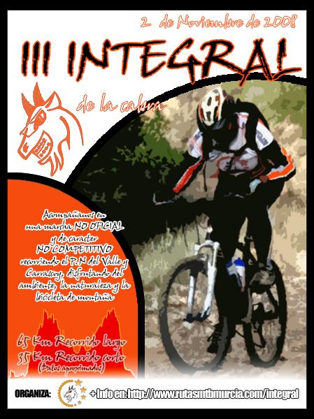 Cartel de la Integral de la Cabra 2008